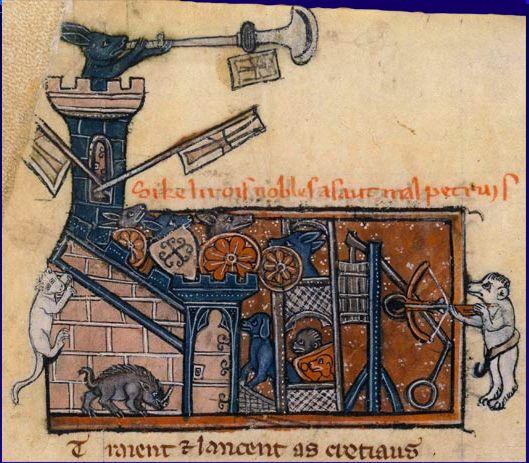 Le Roman de Renart  http://gamory.wordpress.com/2014/05/10/le-roman-de-renart-what-does-the-fox-say/
