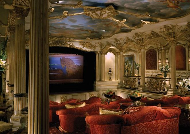 2 million dollar mansions what an 85 million beverly for Luxury home theater rooms