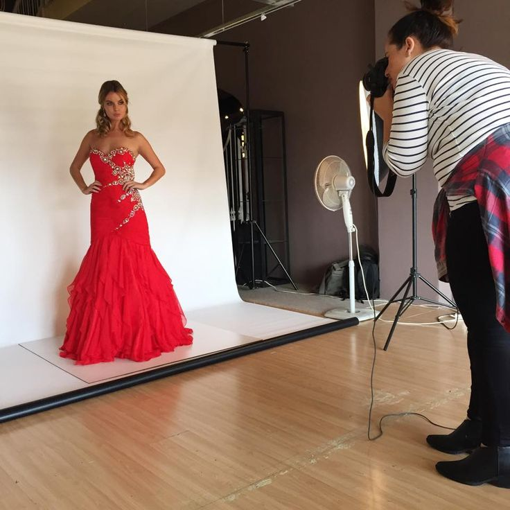 Our amazing photographer @Jessie doing her magic for #ScarlettFashion SS15/16 Photoshoot #BTS #Photoshoot #Prom #Matric #Camera #Dress #MatricDance
