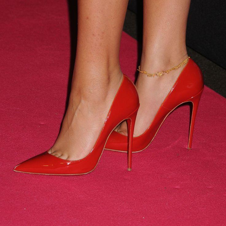 Zendaya in red stilettos #redstilettoheels