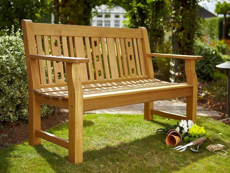 Hartman Harley 3 Seat Bench With Free Brass Plaque Link: Http://www