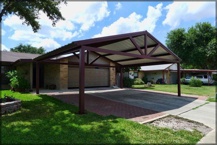 Free standing steel carport plans 16