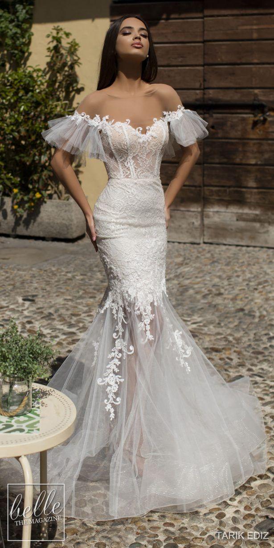 Tarik Ediz Wedding Dresses 2019 Belle The Magazine Mermaid Dresses Wedding Dresses Dream Wedding Dresses