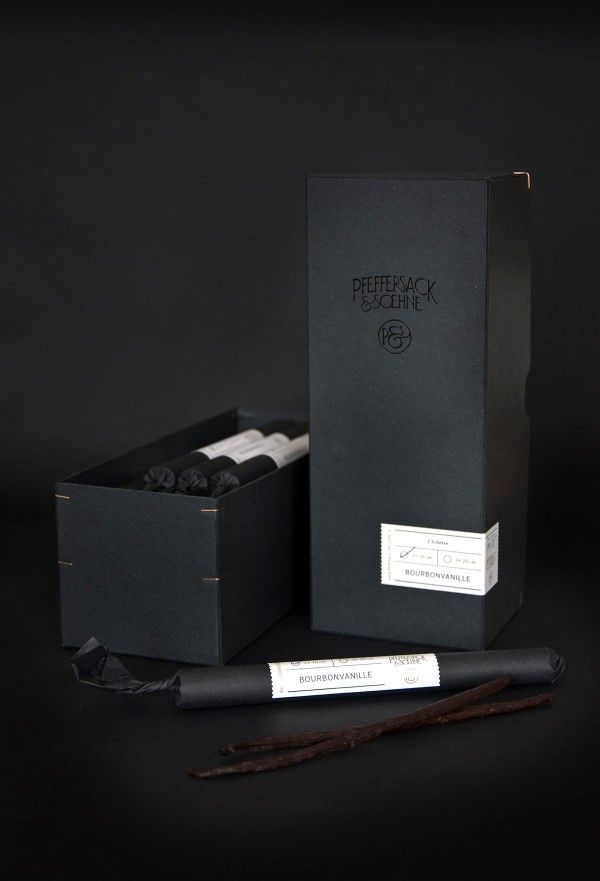 Pfeffersack & Soehne: Vanilla Packaging and Retail Box
