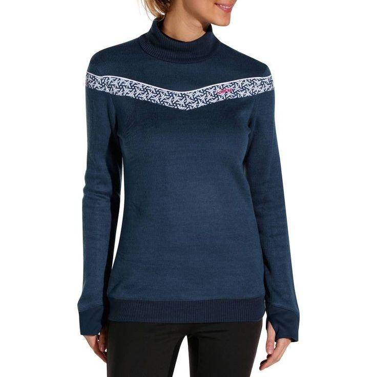 Liner jackets - Midwarm 100 Women's Ski Midlayer - Navy Wed'ze