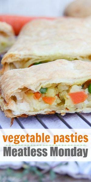 Meatless Monday: Vegetable Pasties