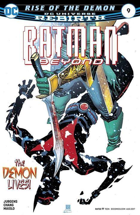 BATMAN BEYOND #9 Damian: 1. Terry: 0. Bruce: Still got it. What did you think of the latest issue? #Batman #dccomics #superman #manofsteel #dcuniverse #dc #marvel #superhero #greenarrow #arrow #justiceleague #deadpool #spiderman #theavengers #darkknight #joker #arkham #gotham #guardiansofthegalaxy #xmen #fantasticfour #wonderwoman #catwoman #suicidesquad #ironman #comics #hulk #captainamerica #antman #harleyquinn