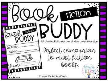 Use this booklet as a comprehension companion for nearly all fiction books. This helps students dive deep into comprehension and requires written answers. Booklet focuses on: Story Elements: Characters, Setting, Problem, and Solution Main Idea and Key Details Sequencing Events My Favorite Part and Why Illustration Inspiration Book Review Identifying Fantasy or
