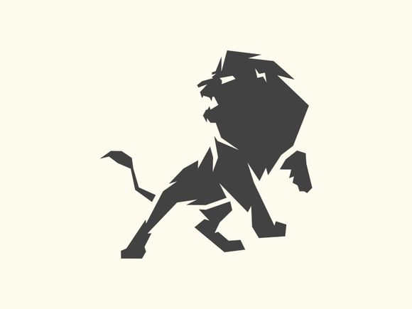 Angry Lion by Brandlogo on @creativemarket