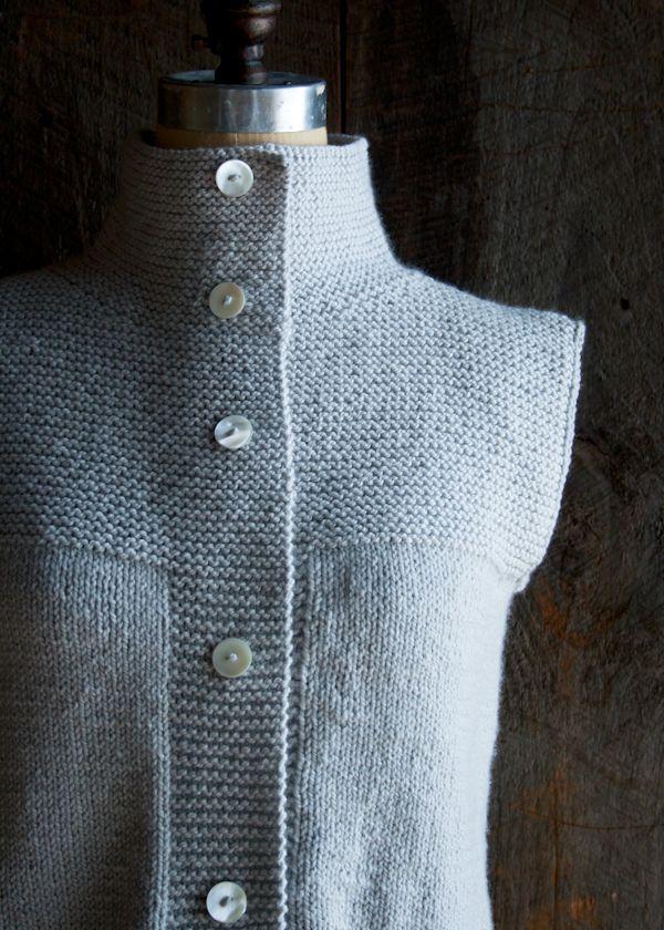 Purl Soho Cardigan Vest | Purl Soho - Create