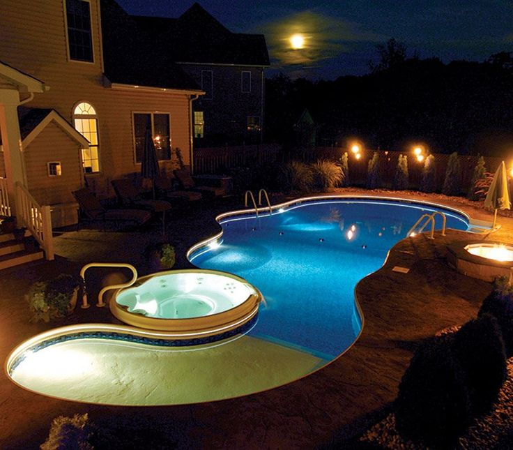 11 best images about vinyl liner pools on pinterest for Vinyl swimming pool