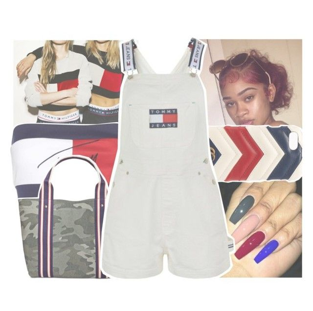 """tommy hilfiger contest w the gucci case"" by daeethakidd ❤ liked on Polyvore featuring Tommy Hilfiger and Gucci"