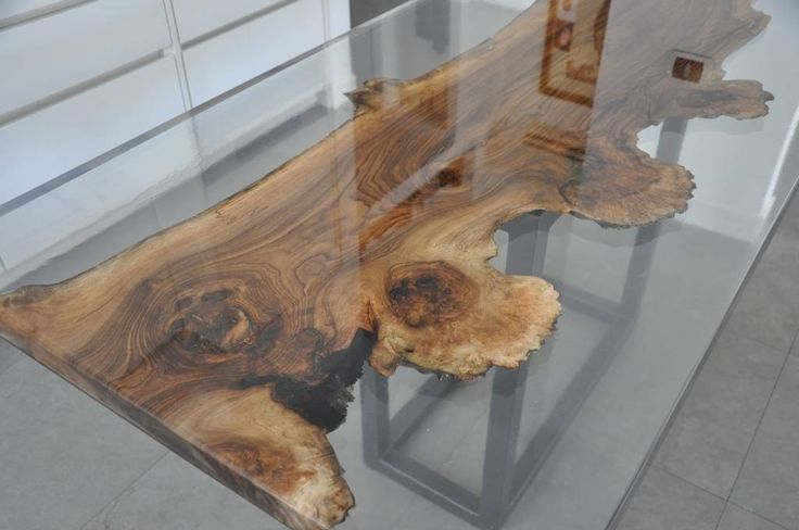 OAK BRIAR ROOT and EPOXY RESIN TABLE (From ANTICO TRENTINO S.R.L.)