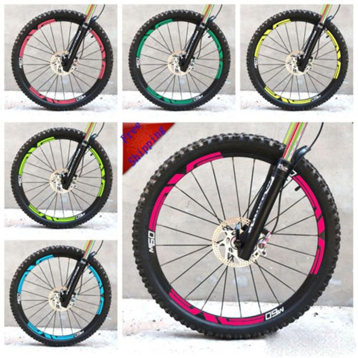 [Visit to Buy] Mountain bike 26 inch bicycle two wheels rim set stickers for ENVE M60 replacement race cycling decals free shipping #Advertisement