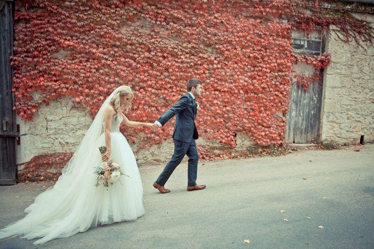 Wine shed drive. #GlenEwinEstate #Weddings #bridal #adelaidehills #photos #Pulpshed #wineshed