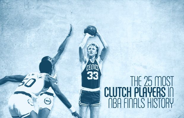 The 25 Most Clutch Players in NBA Finals History
