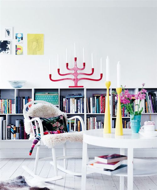 Blue and Yellow Swedish Interior | Miss Design on We Heart It. http://weheartit.com/entry/20530015