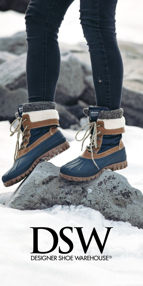 Wherever you're headed this holiday season, we've got boots (or like 5!) you'll love! Check out the Cougar Creek Duck Boot for $79.99 atDSW.COM.
