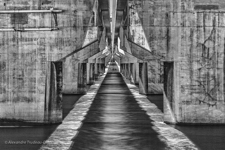 Under the bridge by Alexandre Trudeau-Dion, via 500px