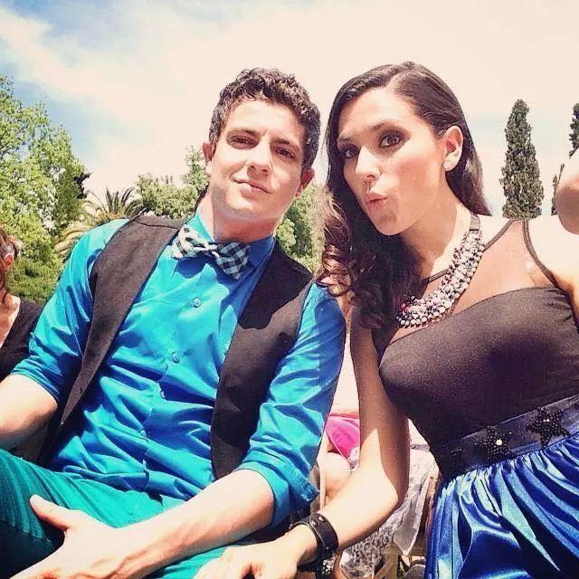 Alba rico y maxi of tournage du mariage de german et Priscilla dans la saison 3 de violetta ❤☑