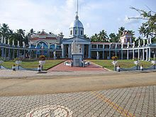 The renovated Mar Thoma Syro-Malabar Catholic Church, Kodungaloor; the first Christian church in India, built 52 A. D.