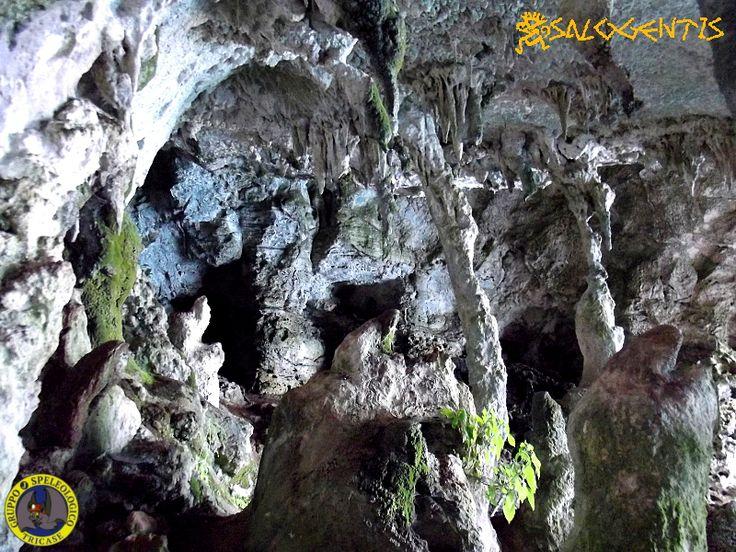 Grotta del presepe o della Vecchiarella nel comprensorio delle Grotte Cipolliane, tra la marina di Novaglie il ponte del Ciolo