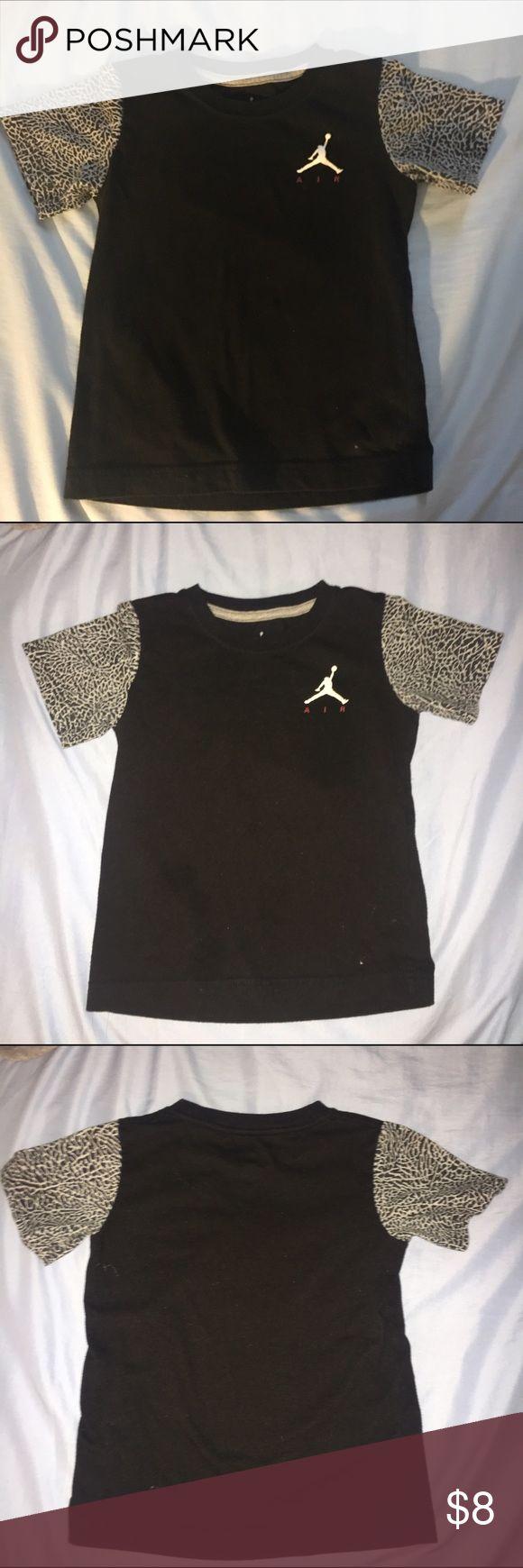 Boys 4T Air Jordan Tee Black Jordan tee size 4T Jordan Shirts & Tops Tees - Short Sleeve