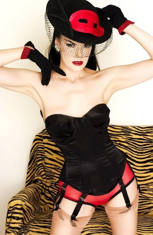 Le corset bustier vintage Veuve Joyeuse | LINGERIE RETRO PIN UP ATTITUDE : Le corset Veuve joyeuse est la quintessence de la lingerie sculptante des années 1950.   http://www.pinupattitude.com/gamme.htm?products_name=Le+corset%20bustier%20vintage%20Veuve%20Joyeuse_id=17#  #lingerie #sousvetements #underwear #bas #vintage #oldschool #rock #shopping #retro #50s #60s #rockabilly #sexy #glamour #pinup #burlesque