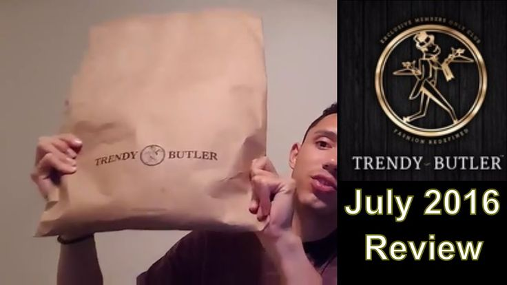 Trendy Butler Review - July 2016 Monthly Subscription box