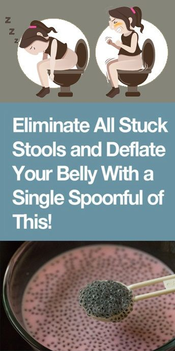 Eliminate All Stuck Stools and Deflate Your Belly With a Single Spoonful of This! -