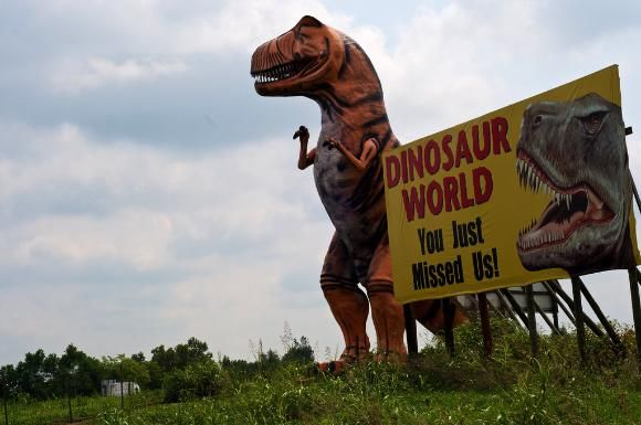 Dinosaur World, near Mammoth Cave National Park, Kentucky