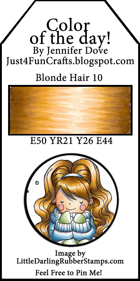 Color of the Day 217 Blonde Hair 10