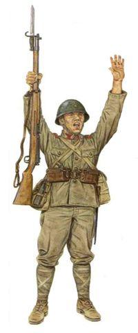 Soldados Japoneses, 1931-1942.                                                                                                                                                                                 Más