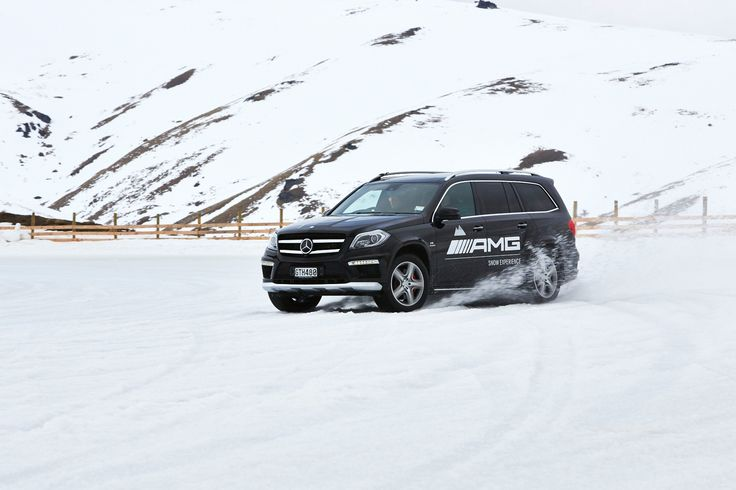 2013 AMG Snow Challenge at Queenstown, New Zealand