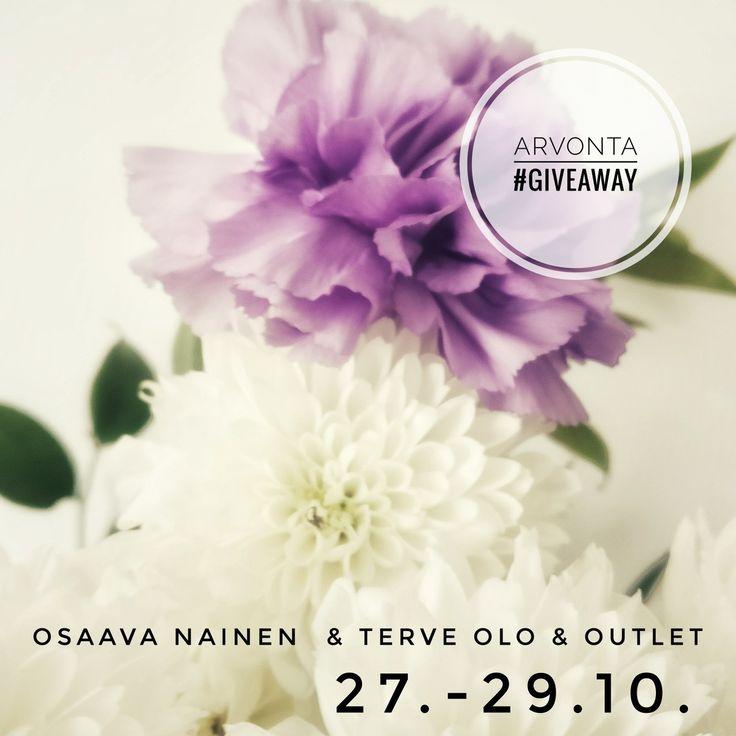 Voita liput messuille!  Osaava nainen & Terve Olo &  Outlet   27.-29.10.