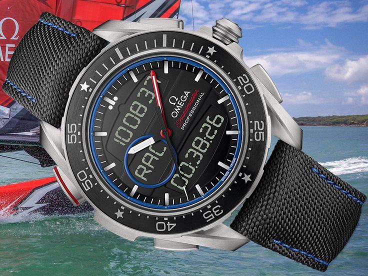 Omega Speedmaster X-33 Regatta ETNZ Limited Edition Watch