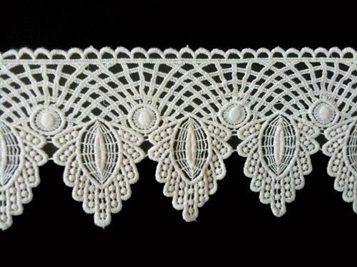Sewing Material for Clothes Cotton Chemical Motive Lace (002) 1yard