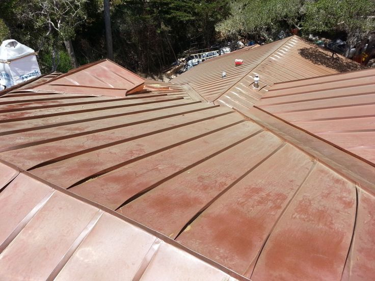 23 best copper standing seam roof images on pinterest for Standing seam copper