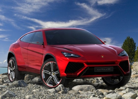 Lamborghini Urus.. You guys, Lambo made a freaking SUV.. Price is in the realm of 200k, making it the cheapest Lamborghini model.