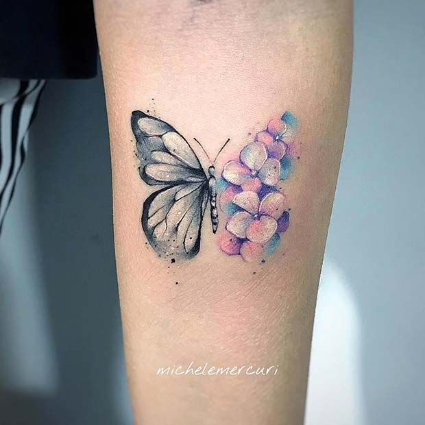 61 Pretty Butterfly Tattoo Designs And Placement Ideas Page 4 Of 6 Stayglam Butterfly Tattoos For Women Butterfly Wrist Tattoo Watercolor Butterfly Tattoo