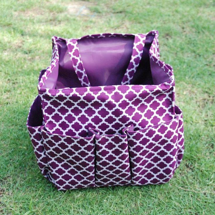 Quatrefoil Garden Gardening Tool bag Carpenter Tote bags in 6 Colors Free…