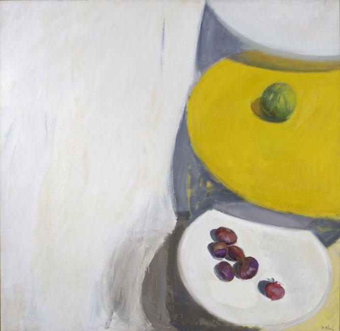 'Tables VI', 1985 by Panayiotis Tetsis