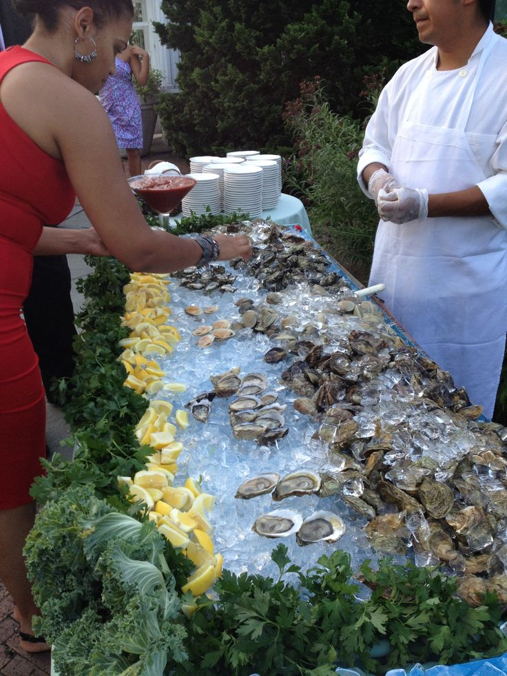 Oyster bar by charlessallycharles catering