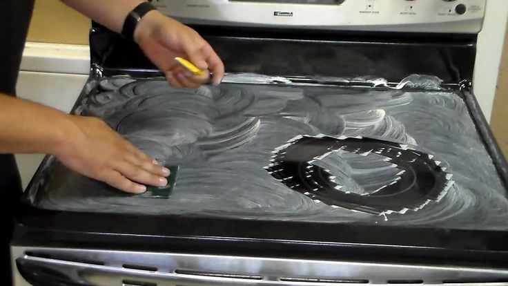This video shows the best way to clean a glass cooktop. This should be the only way that you clean it. This method will help protect it from getting burnt ri...
