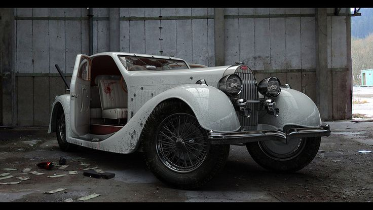 https://flic.kr/p/Fcmxuj | 1280x720_1308_The_Getaway_Vehicle_3d_automotive_old_car_mafia_picture_image_digital_art