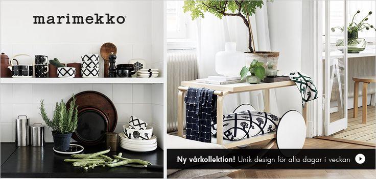 Ny vårkollektion från Marimekko - design för alla dagar i veckan