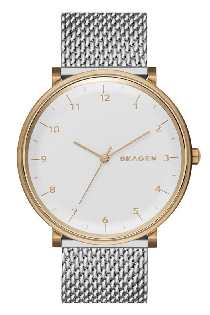 Skagen watch, $175, nordstrom.com.   - HarpersBAZAAR.com