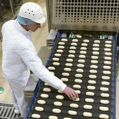 1,800 bakers make frozen goods for Aryzta Bakeries Deutschland in Eisleben, Germany