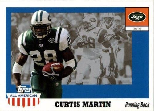 Curtis Martin 2003 Topps All American #35 New York Jets Pittsburgh Panthers