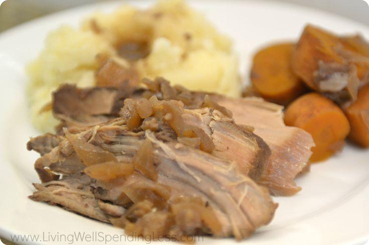 Slow Cooked Pork Tenderloin 7